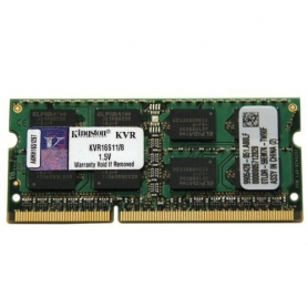 Kingston KVR16S11S8-4 DDR3 so-DIMM 4GB 1600MHZ CL11 singolo modulo